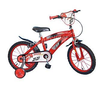 SPEED Bicicleta infantil de 1 velocidad, incluye portanúmeros, modelo Speed Racing 1 unidad