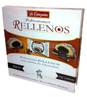 La Estepeña Polvorones rellenos con crema de chocolate 330 g