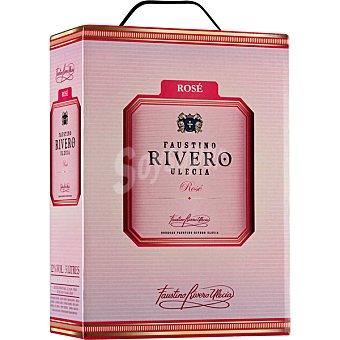 FAUSTINO RIVERO ULECIA vino rosado envase 3 l
