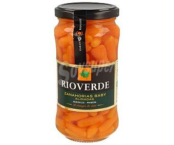 Rioverde Zanahorias baby aliñadas (agridulce) Tarro de 200 g