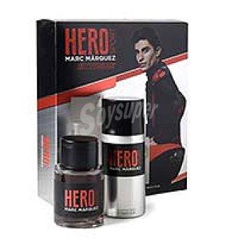 Hero sport Marc Márquez eau de toilette spray 100ml + desodorante Spray 150 ml