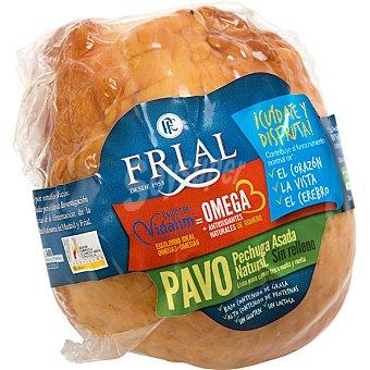 Frial Pechuga de pavo asada natural sin relleno con omega 3 peso aproximado pieza 500 g 500 g