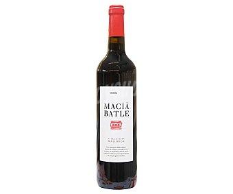 Macía Batle Vino tinto con denominación de origen Vinos de la tierra de Mallorca Botella de 75 cl