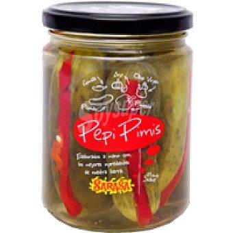 Sarasa Pepinos rellenos de pimiento Tarrina 200 g