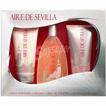Aire de Sevilla Colonia para mujer Vaporizador 150 ml + Body