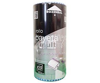 Rozenbal Bayeta multiusos con precorte 20x40 cm Rollo 50 unidades