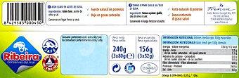 Ribeira Atún Claro en Aceite de Oliva Pack3x80 gr
