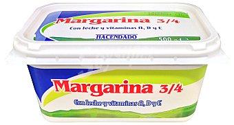 Hacendado Margarina girasol (leche, vitamina a+d+e) Tarrina 500 g