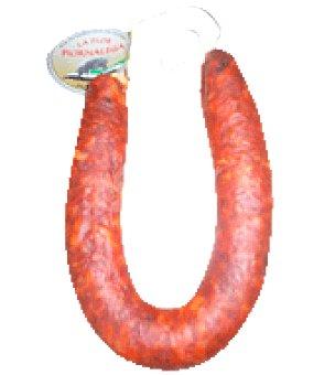 La Flor Piornalega Chorizo ibérico rojo 1ª 380.0 g.