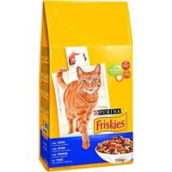 Friskies Purina Alimento de salmón para gato adulto 7,5 kg