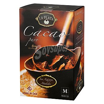 Puro Cacao soluble La Plata sin gluten 250 g