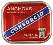 Anchoas en aceite de oliva (santoña-cantabria) 252 gramos Consorcio