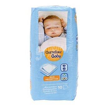 Carrefour Baby Protegecamas 60 x 90 cm. 10 ud