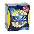 Tampón compak pearl regular Caja 18 ud Tampax