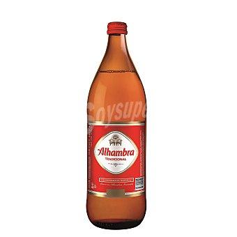 Alhambra Cerveza Premium Lager Botella 1 litro