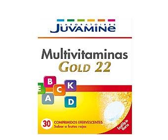 Juvamine Multivitaminas Gold  22 sin azúcares 30 ud