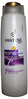PANTENE Champú cabello + serum antiedad BB7  Botella de 270 cc