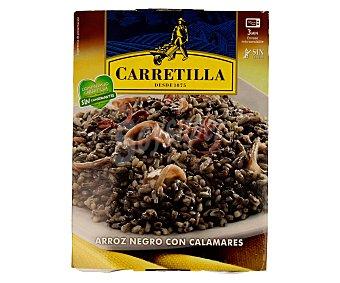 Carretilla Arroz negro con calamares 300 gramos