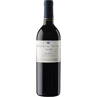 CASTILLO DE AGUARON Vino tinto joven D.O. Cariñena elaborado para grupo El Corte Inglés Botella 75 cl