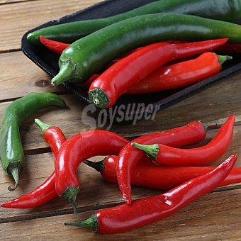 SURINVER Pimiento picante bicolor Bandeja de 200 g