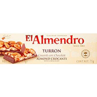 El Almendro Turrón crocanti de chocolate Caja 75 g