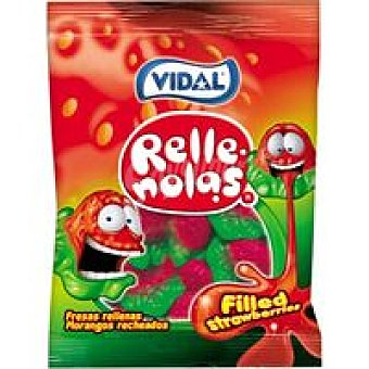 Vidal Fresas rellenas Bolsa 100 g