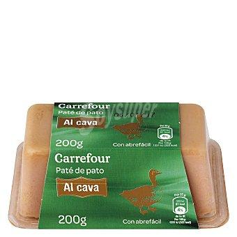 Carrefour Paté de pato al cava lingote 200 g