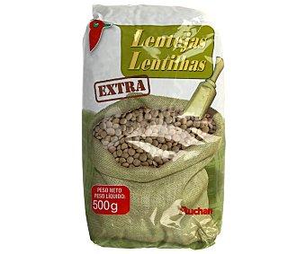 Auchan Lentejas Pardina Extra 500 Gramos