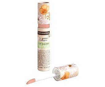 Naturaverde Brillo de labios con efecto brillo y volumen, tono 008 Nude NATURAVERDE.