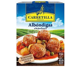 Carretilla Albóndigas a la jardinera Barqueta 300 g
