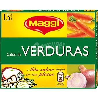 Maggi Caldo de verduras 15 pastillas