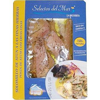 La higuerita Solomillo de atún a las finas hierbas Bandeja 80 g
