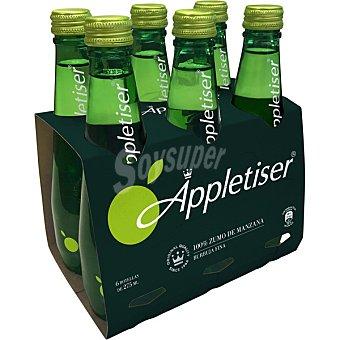Appletiser refresco de manzana pack 6 botella 27,5 cl pack 6 27,5 cl