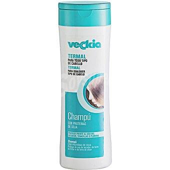 Veckia Champú termal con proteínas de seda para cabello normal Frasco 400 ml