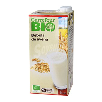 Carrefour Bio Bebida Avena 1 l