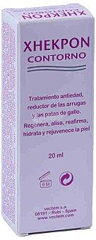 Xhekpon Contorno de ojos, tratamiento antiedad, reductor de arrugas y patas de gallo 15 mililitros