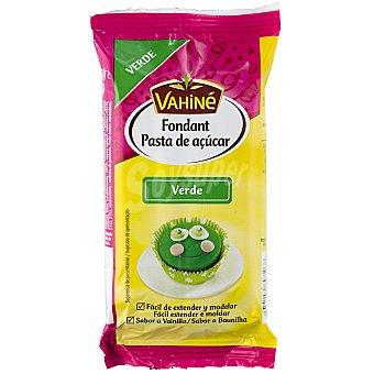Vahiné Fondant verde Paquete 250 g