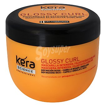 Les Cosmétiques Mascarilla cabello rizado - Kera Science 300 ml