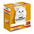 Gold alimentación húmeda para gatos Tartelette surtido con carnes y verduras Pack 8 lata 85 g Gourmet