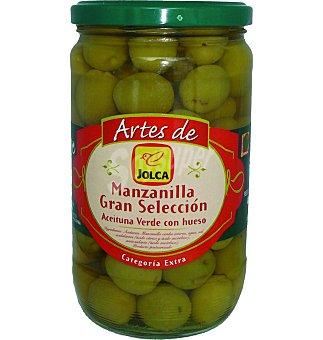 Jolca Aceitunas Manzanilla con hueso 420 GRS