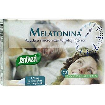 SANTIVERI Melatonina Complemento nutricional Envase 72 comprimidos