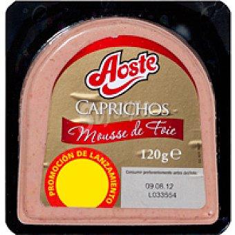 Aoste Caprichos de mousse de foie 120 g