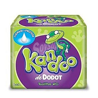 Kandoo Toallitas wc niños dispensador y recambio Caja 60 u