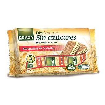Gullón Barquillo de vainilla sin azúcar Diet Nature Paquete 210 g