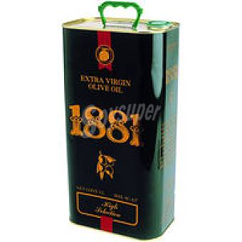 OLIVA Aceite de virgen extra 1881 Lata 5 litros