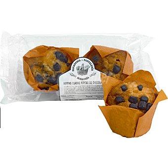 Muffins con pepitas de chocolate Bolsa 2 unidades