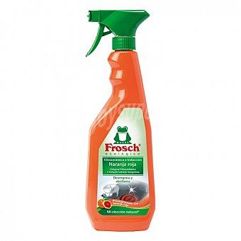 Frosch Limpiador de vitrocerámica e inducción aroma naranja roja ecológico 750 ml 750 ml