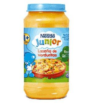 Junior Nestlé Tarrito de lasaña con verduras Pack de 2x200 g