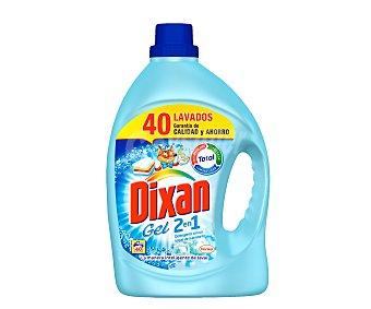 Dixan Detergente 2 en 1 Toque de Suavizante Botella 38 lav