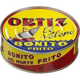 Ortiz El Velero Bonito frito en escabeche lata 500 g neto escurrido